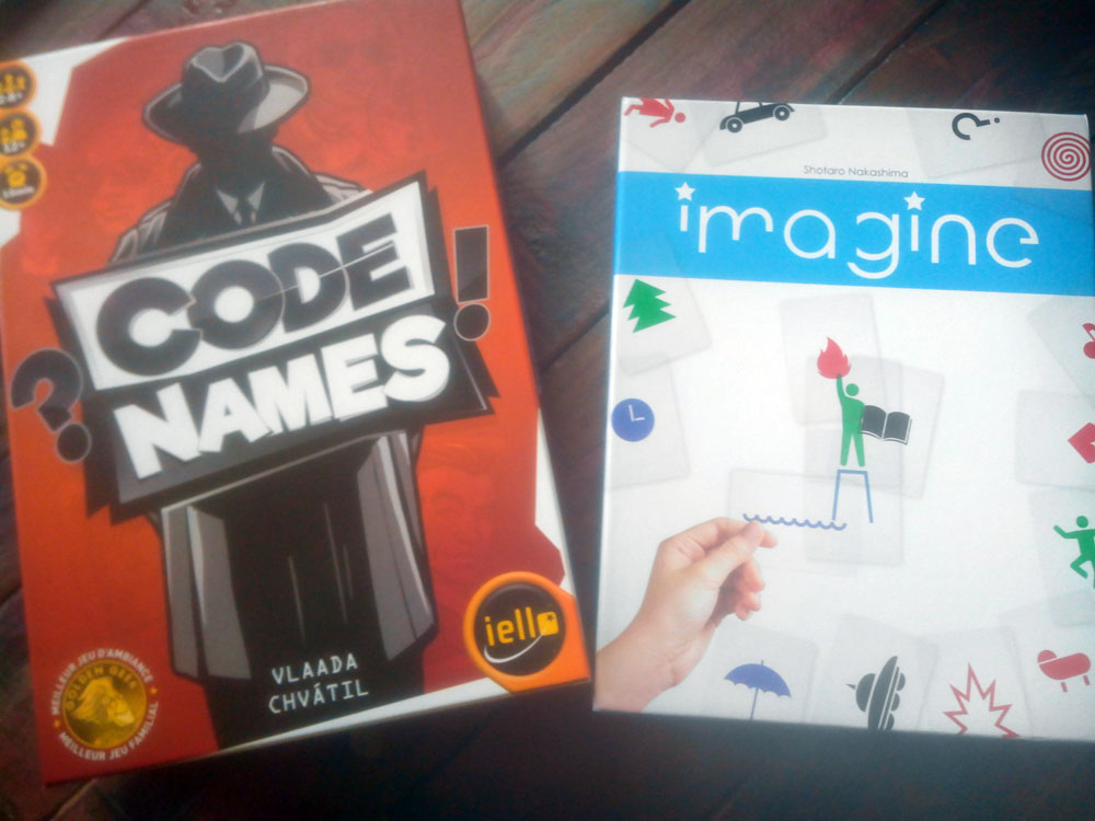 Codenames et Imagines